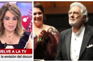 """A Carme Chaparro le molesta que ovacionen a Plácido Domingo: """"¿Fue un aplauso merecido?"""""""