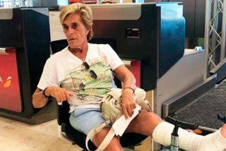 Chelo García Cortés, de 'meter la pata' a pasar por quirófano para que se la arreglen