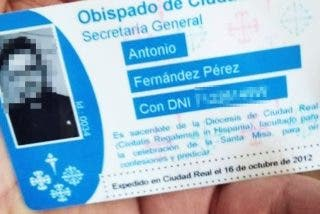 Un falsificador se hace pasar por sacerdote de la diócesis de Ciudad Real