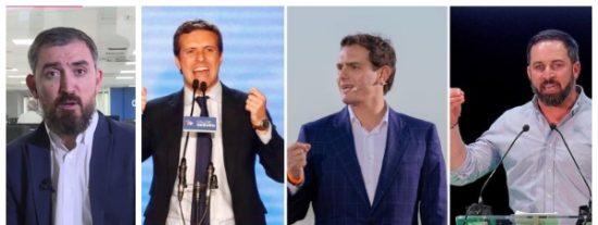 """Canguelo en la izquierda: Escolar teme un triunfo de la derecha si hay elecciones y que sería """"catastrófico para la democracia"""""""
