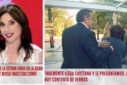 #StopPeriodismoMachista: Los esbirros de Mejide se saltan las normas de seguridad para acosar a Cayetana y luego lamentan que les expulsen de la Asamblea