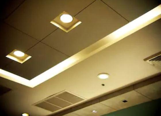 Focos de techo sin empotrar de diseño