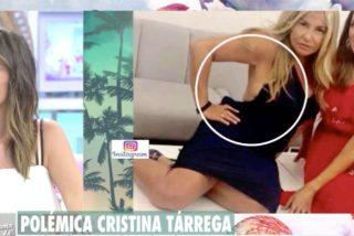 """Cristina Tárrega culpa a Patricia Pardo de la polémica foto retocada que subió a su Instagram: """"La que me ha liado"""""""
