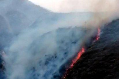 Fuego amenaza con arrasar fortaleza de Kuélap, Perú