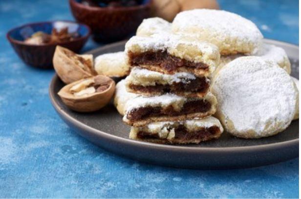 galletas árabes con dátiles
