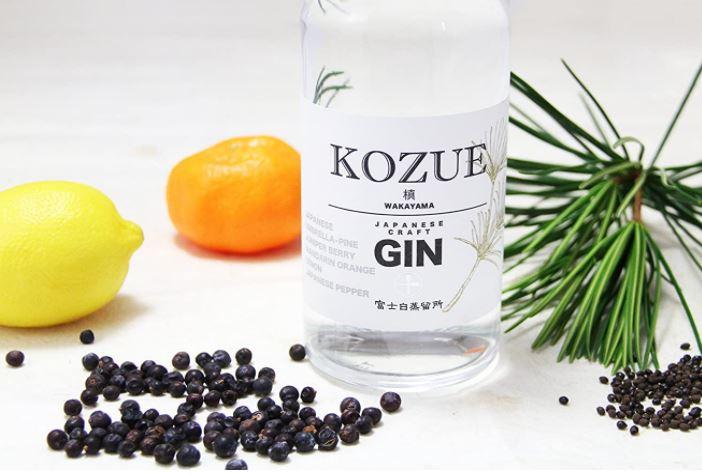 Kozue Japanese Craft Gin-Mejores ginebras japonesas