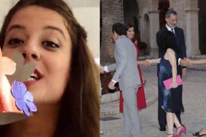 """Las redes, desoladas con el vídeo de la 'youtuber podemita' que fue de lista con el Rey Felipe: """"Ya teníamos suficiente con Beatriz Talegón..."""""""