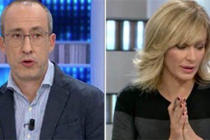 """Lo nunca visto en 'Espejo Público', estalla el periodista: """"Es una putada, una injusticia y una mierda"""""""