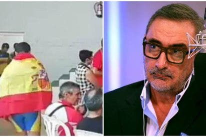 El niño al que prohibieron llevar la bandera de España estalla y envía una escalofriante carta a Carlos Herrera