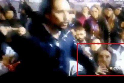 Se viraliza un impactante vídeo del 'feminista' Pablo Iglesias mandando callar de muy malas maneras a su pareja Irene Montero