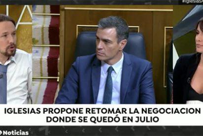 Sánchez humilla a Iglesias y su nueva oferta desesperada para gobernar con él