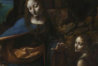 """El secreto debajo del cuadro """"La Virgen de las Rocas"""" de Leonardo da Vinci revelado con rayos X"""
