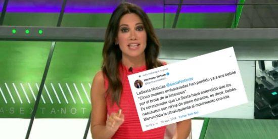 """Un tuit le basta a Tertsch para desmontar la hipocresía de laSexta con la listeriosis: """"Cuando les conviene los bebés son niños de pleno derecho"""""""