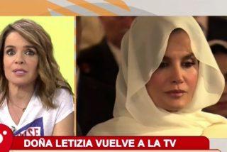 """Chaparro estalla decepcionada contra la reina Letizia por su regreso a televisión: """"Fuimos compañeras..."""""""