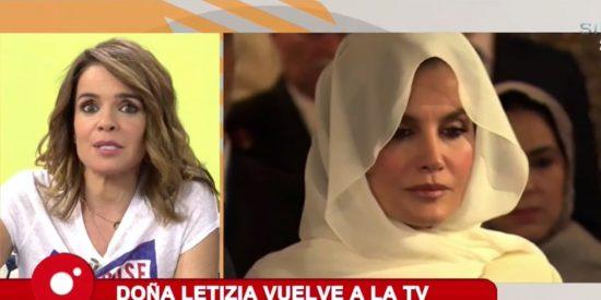 """Chaparro, que soñaba con la primicia, se pica con la reina Letizia: """"Fuimos compañeras..."""""""