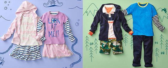 LOOK by crewcuts nueva marca de moda para niños en Amazon