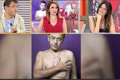 """El flipado Monedero da detalles aún más chuscos de su comentado desnudo: """"Los calzoncillos que llevo son los de Pérez-Reverte y un pack de dos valen 9 euros"""""""