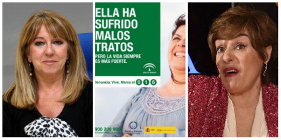 Anabel Alonso y las 'feminazis' de RTVE se ciscan en la campaña contra la violencia de género de la Junta andaluza y en Twitter se llevan un fenomenal correctivo