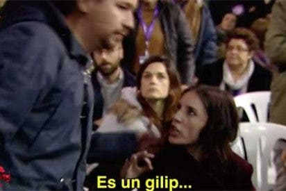 """""""¡Es un gilipollas!"""" Salen a la luz más impactantes detalles del vídeo viral que había colocado en la picota a Pablo Iglesias e Irene Montero"""