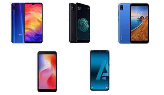 móviles más vendidos en Amazon 2019