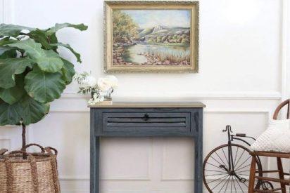 muebles recibidor vintage