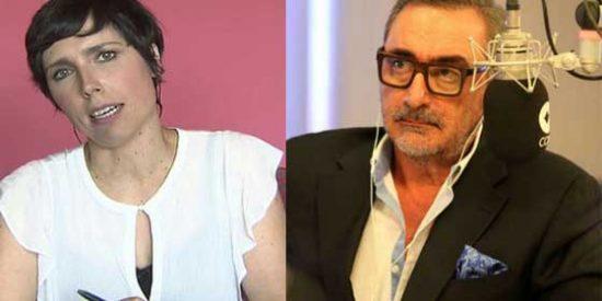 """Marta Nebot tiene tantas ganas de 'crecer' en el estercolero de Risto y Vasile que insulta a Carlos Herrera: """"Es el nuevo payaso"""""""