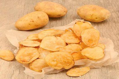 Recetas de patatas chips caseras