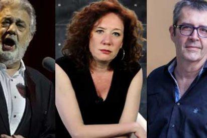 Sujetos de la izquierda mediática como Máximo Pradera o la Fallarás se apresuran a condenar a Plácido Domingo aunque el tenor niega las acusaciones de acoso sexual