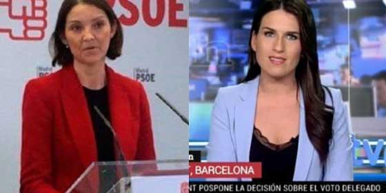 El colmo de la obscenidad: el ministerio de Industria reprende en público a una presentadora de Televisión Española y le invitan a corregir su entradilla