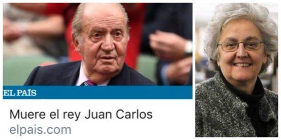 ¡La pifia de la década! El País 'mata' al rey Juan Carlos y las redes se descojonan del 'periodismo serio' de Gallego-Díaz