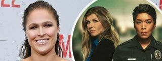 La actriz Ronda Rousey sufre la amputación de un dedo en el rodaje de la serie de Cuatro '9-1-1' (IMAGEN MUY SENSIBLE)