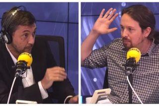 """Las hordas de Podemos salen de cacería contra Javier Ruiz por la dureza de su entrevista con Iglesias: """"Cuando te veas sentirás vergüenza"""""""