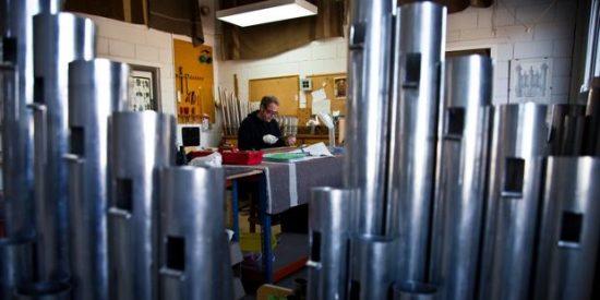 Un taller español fabrica el futuro órgano de la Catedral de San Vito en Praga