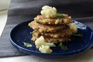 Tortitas de coliflor