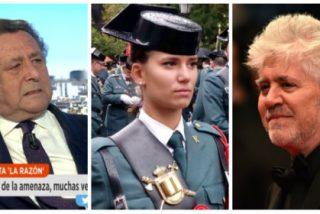 Ussía arranca el aplauso unánime de Policía y Guardia Civil y mete el miedo en el cuerpo a Almodóvar y a las asociaciones feminazis