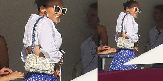 ¿Sabías que el bolso más fabuloso que ha llevado Jennifer López en el último mes es de Purificación García?