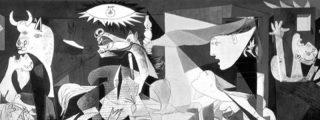 """¿Sabías que la web de la ONU dice que Picasso pintó el Guernica """"en protesta por las atrocidades de la República""""?"""