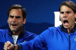 ¿Todavía nos has visto el vídeo viral de Rafa Nadal y Roger Federer?: atención a sus palabras a Fognini