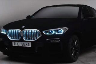 BMW presenta el super coche más negro del mundo que absorbe la luz