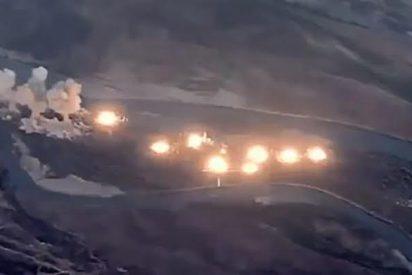 Aviación militar estadounidense bombardea una isla iraquí dominada por el Estado Islámico con 36 toneladas de bombas