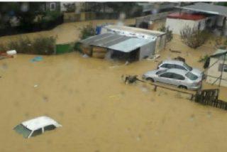 Las inesperadas lluvias torrenciales que asolan España provocan, además de múltiples daños materiales, dos fallecidos
