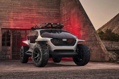 El conglomerado empresarial Audi diseña un todoterreno eléctrico donde los faros son sustituidos por modernos drones