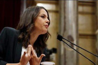 Inés Arrimadas: revolcón parlamentario y lección de derecho al xenófobo Quim Torra