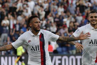 """Neymar les """"tapa la boca"""" a los iracundos hinchas del PSG metiendo un gol de chilena antológico"""