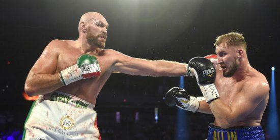 El boxeador Tyson Fury acaba con su rival Otto Wallin y retiene el título del Consejo Mundial de Boxeo en un combate brutal donde corrió la sangre