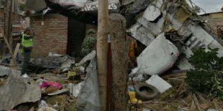 Fallecen varios vecinos de una zona residencial colombiana tras estrellarse una avioneta