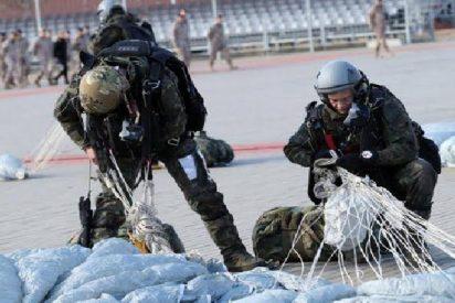 """Paracaidista tiene una """"potra"""" descomunal al salvarse en el último momento de una muerte segura"""