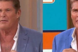 """David Hasselhoff retorna a sus """"años mozos"""" y vuelve a ser Michael Knight por un momento"""