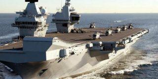 Reino Unido refuerza la Marina Real con un espectacular e innovador portaaviones