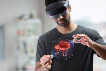 El nuevo visor de RV, denominado Hololens 2, de Microsoft tendrá una visión más amplia y un procesador más potente